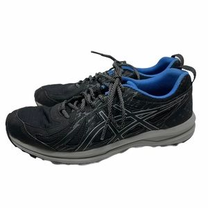 Asics Frequent Trail Black Sneakers Size 9.5